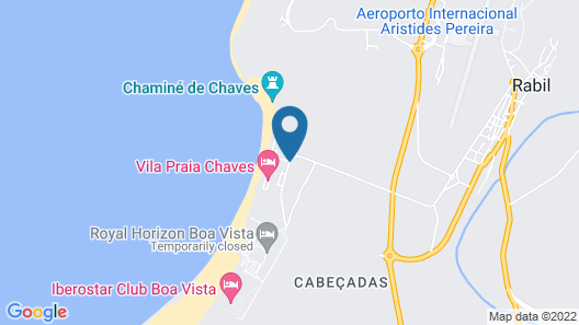 Vilas Praia de Chaves Map