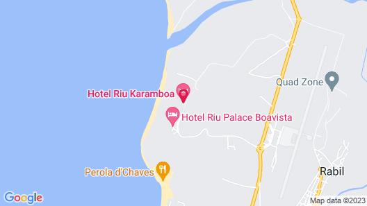 RIU Palace Boavista - All Inclusive Map