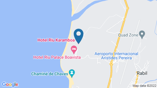 RIU Palace Boavista - All Inclusive Map
