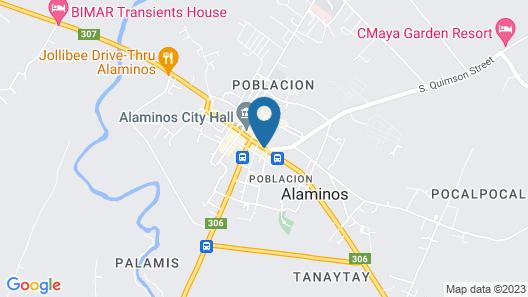 Asia Novo Boutique Hotel-Alaminos Map