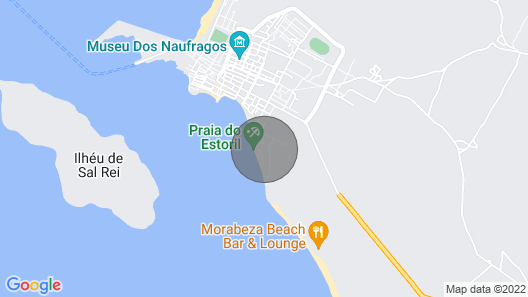 Lovely studio apartment directly in front of Estoril beach Map