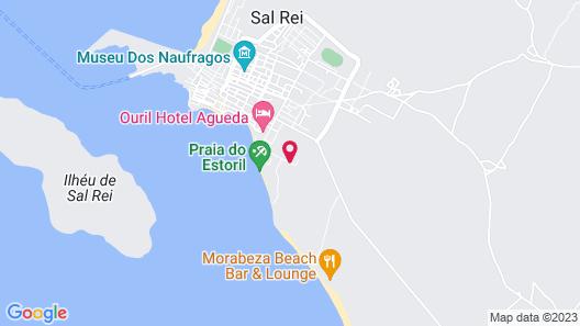Sea View Apartments Boa Vista Map