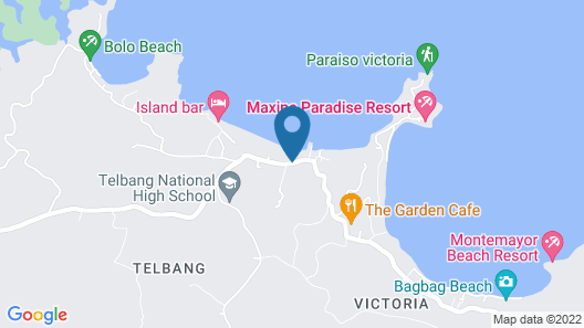 Doña Josefa Aquino Poolside Resort Map