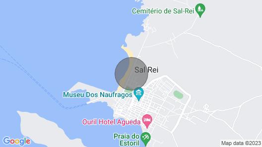 One Bedroom Apartment Praia Cabral, Boavista Map