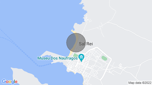Monolocale Vista Mare, con Piscina, Praia Cabral, Boa Vista, Cabo Verde Map