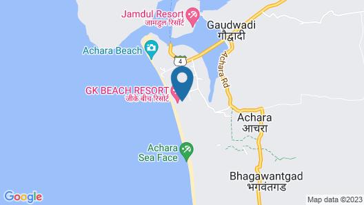 GK Beach Resort Map