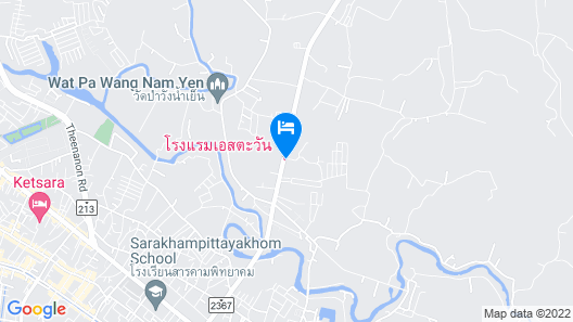 S-Tawan Hotel & Convention Map