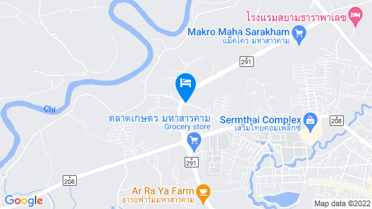 Palm Spring Apartment Map