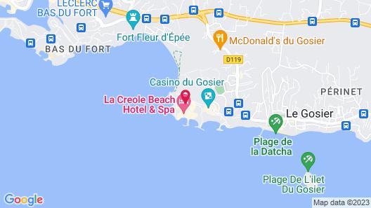 Karaibes Hotel Map