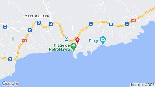 Cap Sud Caraibes Map