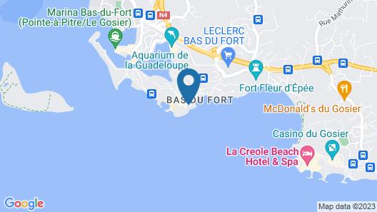 Hotel Fleur d'Epée Map