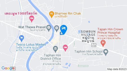 Roseinn Hotel Taphanhin Map