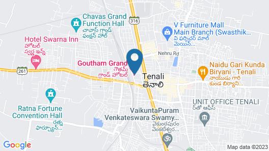 Goutham Grand Hotel Map