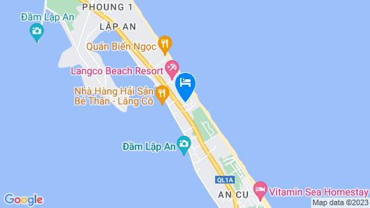 Thanh Tam Resort Map