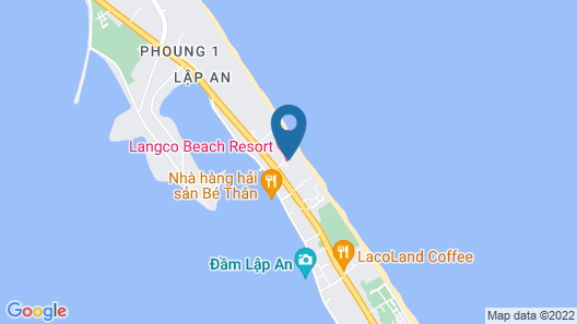 Lăng Cô Beach Resort Map