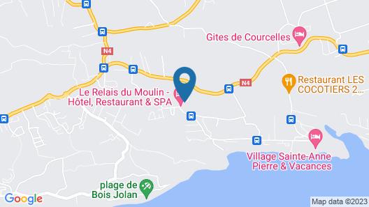 Le Relais du Moulin, Hôtel de Charme & Spa Map