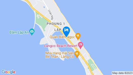 Làng Cò Resort Map