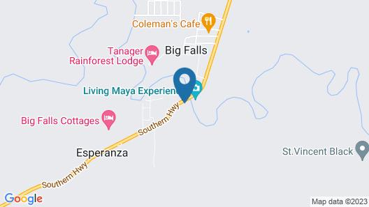 Big Falls Extreme Adventures Map