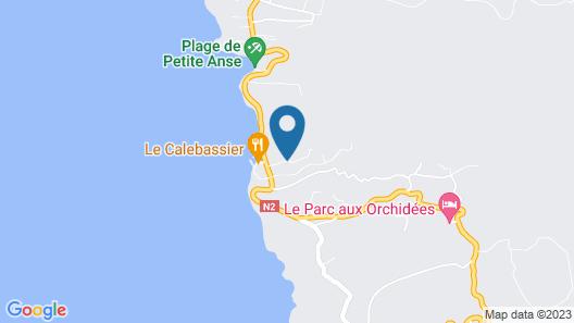 La Pointe D'Argent Map