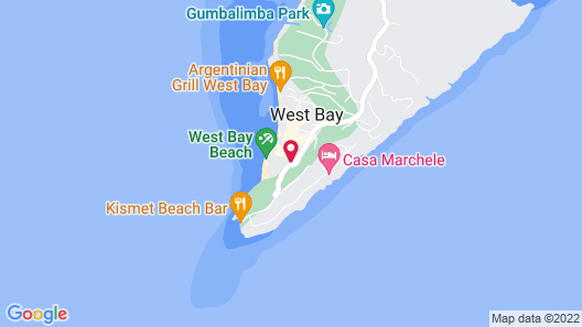 Infinity Bay Spa & Beach Resort Map