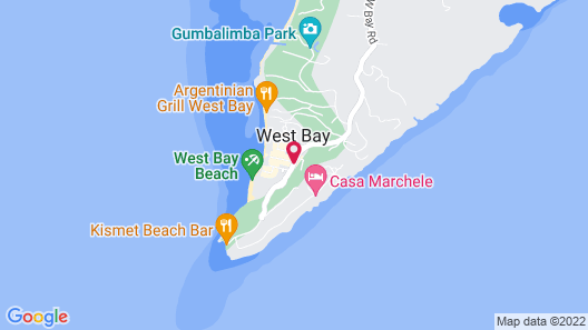 West Bay Lodge Map
