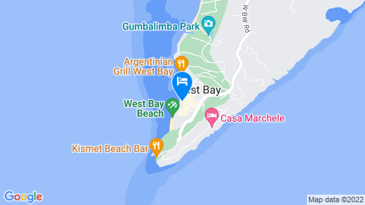 Bananarama Dive & Beach Resort Map