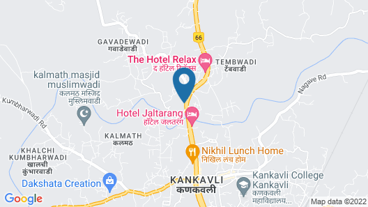 Neelisha River Front Inn Map
