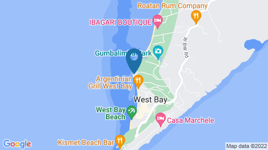 Hacienda Caribe Tesoro Map