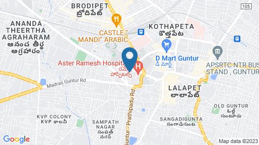 Capital O 43238 The Taj Regency Map