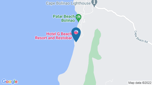 Veue Beach Cabins Map