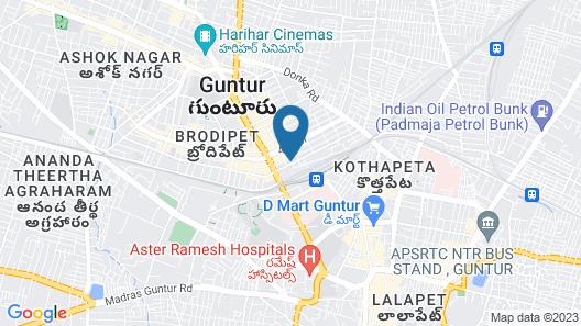 OYO 15936 Hotel Gnr Residency Map