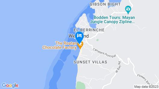 Splash Inn Dive Resort & Villas Map