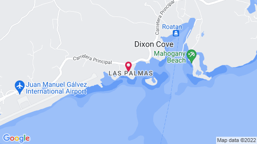 Las Palmas Beach Hotel Map
