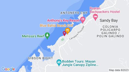 Tranquilseas Eco Lodge & Dive Center Map
