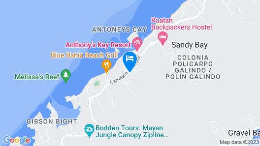 Jungle Reef Inn Map