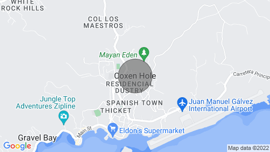 3 Bedroom Townhouse With Ocean Views Map