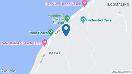 Paz Patar Beach House Resort Map