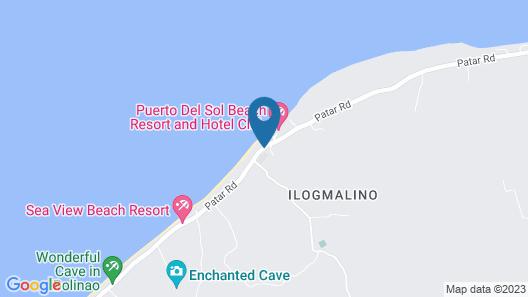 Puerto Del Sol Beach Resort Map