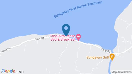 Villa Soledad Beach Resort Map