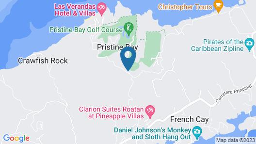 Las Verandas Hotel & Villas Map