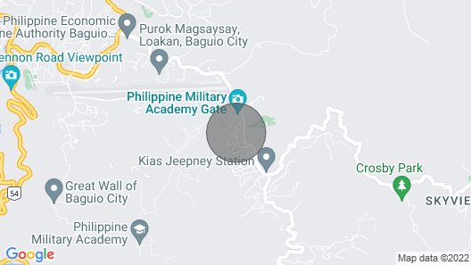 Baguio Exotic Cozy Home Map