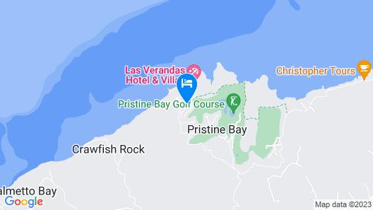 Villas in Pristine Bay Map