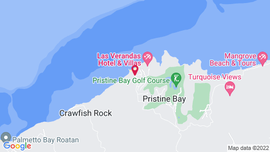 Pristine Bay Resort Map