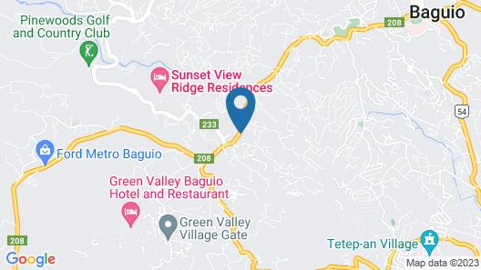 The Podium Boutique Hotel Map