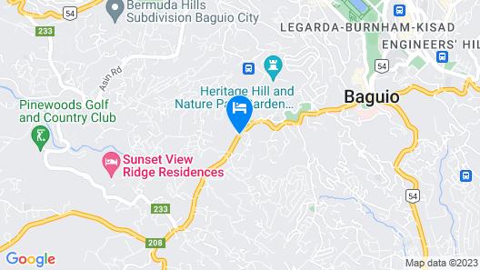 Cozy Condo in Baguio City Map