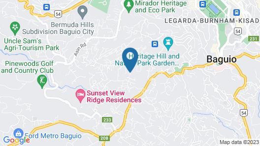 OYO 748 Baguio Transient Dot Com Map
