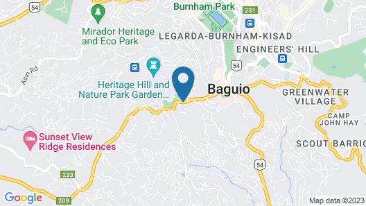 OYO 735 E & E Valley High Apartelle Map