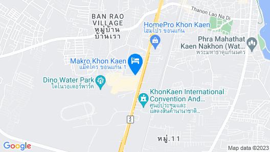 Pratunam Hotel Khonkaen Map
