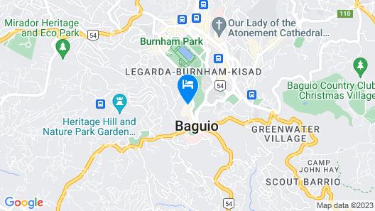 Grand View Residences near Burnham Park Map