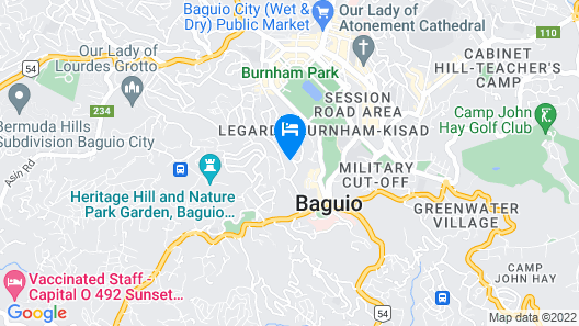 456 Hotel Map